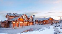 Big Sky Premier Home in the Exclusive Yellowstone Club to be Auctioned Yellowstone Club, House Windows, Big Sky, Renting A House, Vermont, South America, My House, Skiing, House Design