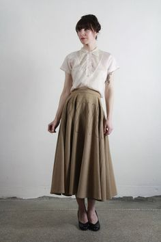 Blouse + skirt