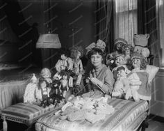 Victorian Girl With Her Doll Collection 8x10 Reprint Of Old Photo