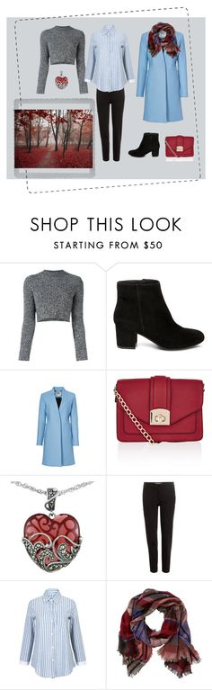 """""""Cold blue"""" by tatiana-touraeva on Polyvore featuring Carven, Steve Madden, Milly, Accessorize, Lord & Taylor, Etro, TravelSmith and Polaroid"""