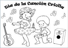 """Pareja de niños bailando el """"Alcatraz"""", baile Afro-Peruano // Couple dancing the """"Alcatraz"""", which is an Afro-Peruvian dance."""