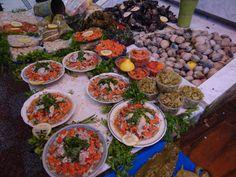 Mercado de Talcahuano en Chile