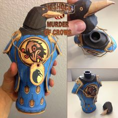 Bioshock Infinite: Murder of Crows Papercraft by *JouzuMania on deviantART Aaaand this one as well...