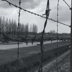 I took this picture at the concentration camp in Dachau, #Munich. I tried to put the atmosphere of this place in the picture.