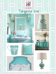 Home-Styling: turquoise  Ana Antunes