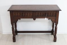 Sonstige Konsoltisch Beistelltisch Tisch Rosenholz Messingintarsien Barockstil Feine Arb Beistelltische