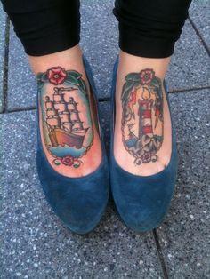 #foot #tattoo