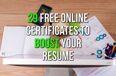 Make sure your cv looks amazing with these free online courses...