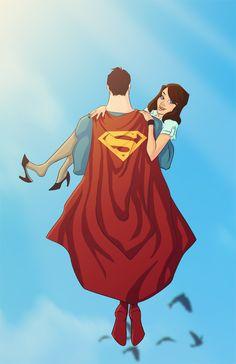 Superman Lois Lane - Kanish.deviantart.com