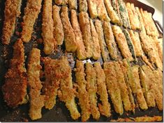 Baked Zucchini Fries: Only Four Calories Per Stick!