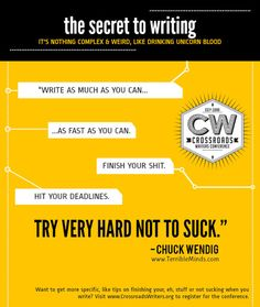 25 Rules For Writing & Telling Stories: 1) Don't Write What You Know; Know What You Write 2) Bleed On The Page 3) Write The Song That Sings To Your Heart 4) Show Now, Tell Later 5) Aim Big, Write Small 6) Character Is Everything...8) Plot Is Soylent Green 9) Conflict Is The Food That Feeds The Reader...11) The Dual Function Of Story...15) Every Is Story Is An Argument...17) Stories Are Like People: They Need Oxygen...19) Realize Your Reach...25) Write Like The End Is Nigh
