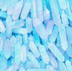 #crystals #pastel