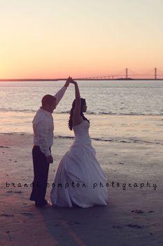 Brandi Compton Photography #weddings #beach