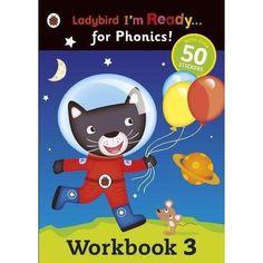 Ladybird Phonic Readers 8 Book Set Collection - Activity Workbooks