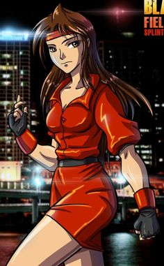 Blaze Fielding from Streets Of Rage
