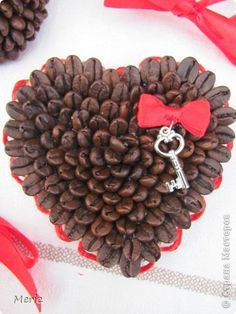 Cofee beans heart