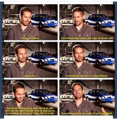 Paul talking about Jordana, perhaps best off screen relationship is with the cast of fast and furious. Just like the movie they really are family.