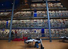 Central Library, University of Technology, Delft, Netherlands