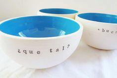 Bowls de ceramica