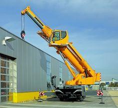 Liebherr mobile cranes - LTC 1045-3.1