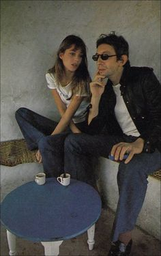 Serge Gainsbourg & Jane Birkin....hottest couple