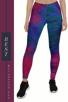 Merging style with elegance Festival Wear, Yoga Leggings, Printed Leggings, Casual Wear, Must Haves, Red And Blue, Comfy, Elegant, Stylish