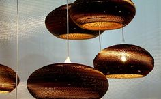 3 Ideias de Luminárias Feitas de Papelão | Reciclagem no Meio Ambiente – O seu portal de artesanato com material reciclado