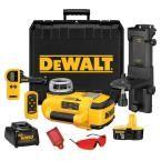 DEWALT 18-Volt Self-Leveling Rotary Laser Level Interior/Exterior Kit