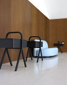 Picnic is a new addition to our collection by Danish-Italian design duo GamFratesi.  At first glance, Picnic may evoke a traditional picnic basket or sewing box.  However, its black-stained ash finish gives it a modern twist, making it a suitable storage space for many of your small accessories.