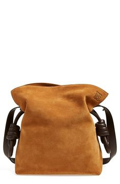 LOEWE+'Small+Flamenco+Knot'+Suede+Bag+available+at+#Nordstrom