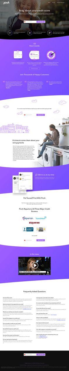 Pinch landing page design inspiration - Lapa Ninja Best Landing Page Design, Best Ui Design, App Design, Website Design Services, Ui Web, Web Design Trends, Web Design Company, Website Design Inspiration, User Interface Design