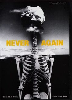 Never again Peter Kennard  Photomontage
