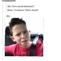 WTF!? Who is Jacob?! Please!