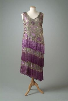 1924 dress via The Meadow Brook Hall Historic Costume Collection.