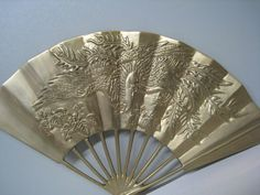 Dragon & Phoenix Carved Enesco Vintage Fan $129.95 Are You Holiday Gift Ready? http://www.islandheat.com for Great Gift Idea's for the whole family.