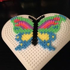 Butterfly hama perler beads by niiraz