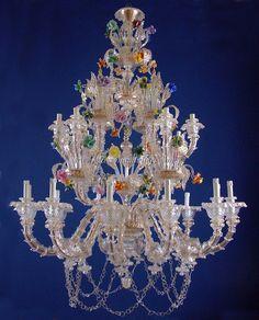 multi color Murano glass