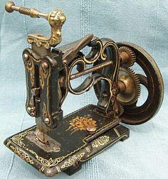 Machine à coudre intemporel