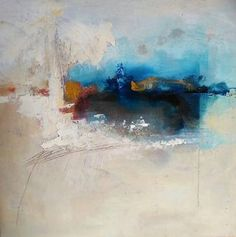 """""""A Los Lejos,"""" original abstract painting by artist  Julilith Seguin (Spain) available at Saatchi Art #SaatchiArt"""