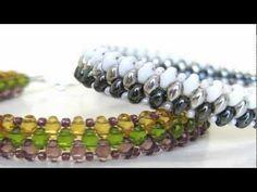 Handmade Bracelet using Superduo Beads