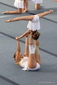 Gymnastics Stunts, Gymnastics Tricks, Gymnastics Flexibility, Acrobatic Gymnastics, Cheer Stunts, Gymnastics Pictures, Gymnastics Girls, Gymnasts, Gymnastics Problems
