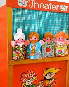 Make your own puppet family! Handmade by alice apple.