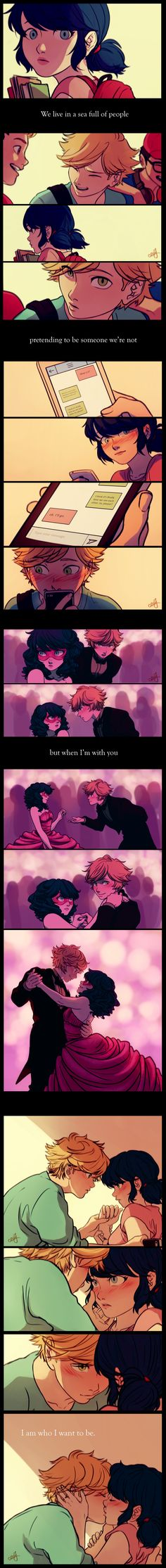 Adrien and Marinette <3
