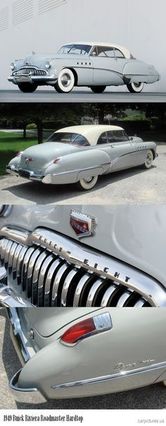 The 1949 Buick Riviera Roadmaster Hardtop. Buick Riviera, Retro Cars, Vintage Cars, Antique Cars, Cadillac, Buick Cars, Buick Gmc, American Classic Cars, American Auto