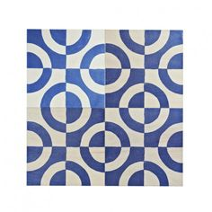 Bonnie and Neil Mod Blue Tile Bonnie And Neil, Timber Tiles, Blue Tiles, Grout, Plywood, Wall Tiles, Adhesive, Screen Printing, Lead Time