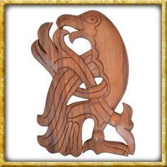 Eine grosse Auswahl an Schnitzwerk aus Holz verschiedener Kulturen wie Nordischen Völkern, Kelten und vielen mehr. Wood Carvings, Dragons, Random Stuff, Figurine, Timber Wood, Deco