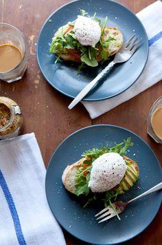 Avocado Poached Egg Tartine