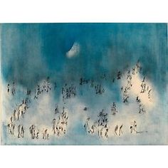 NORMAN LEWIS (1909 - 1979) I'm beginning to see the light. Lot 51