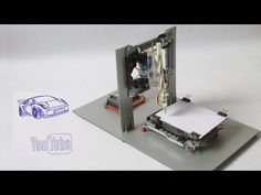 How to Make a CNC machine at home - YouTube