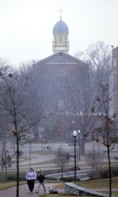 A view of the University of Dayton in February 2012. Photo by the Dayton Daily News.